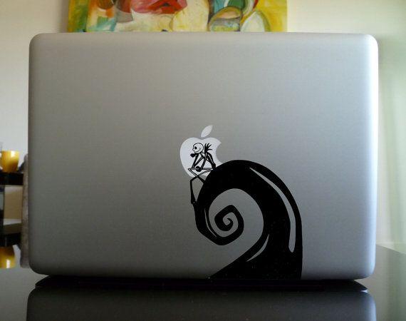 MacBook Aufkleber Aufkleber / Laptop Aufkleber Aufkleber - Nightmare Before Christmas