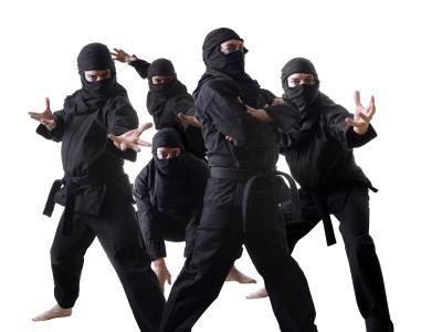 Как сделать костюм и оружие ниндзя