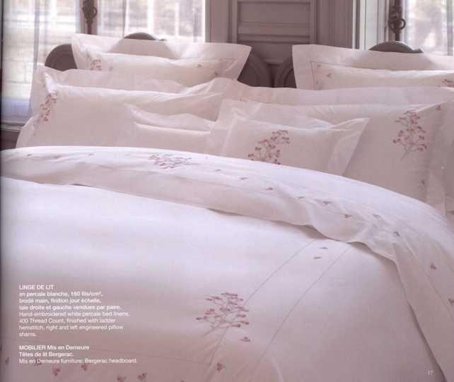 24 best images about couvre lit on pinterest oriental king comforter sets - Linge de lit yves delorme ...