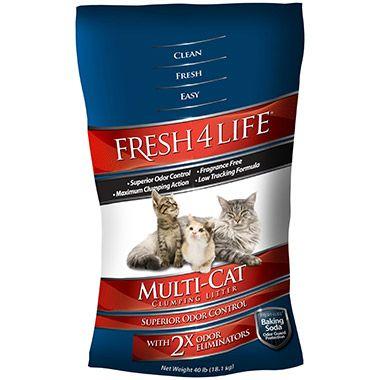 Multi Cat Clumping Litter