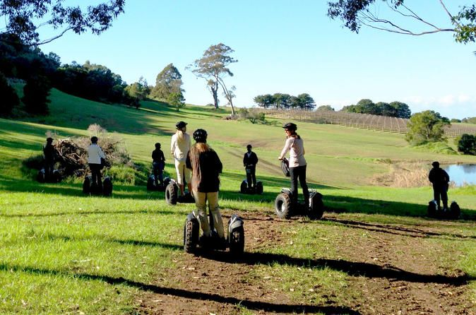 Coolangatta Estate Segway Tour Explore all accessible areas of historic Coolangatta Estate, near Berry, on a magical 1.5 hour guided Segway tour. Discover the property's significance as the first European settlement on South coast NSW and enjoy the scenery on a Segway PT.A Segway is a great way to get around, it is easier than walking and a Segway tour provides a unique and personalised travel experience.Your friendly guide will carefully instruct you on how to ride safely and...