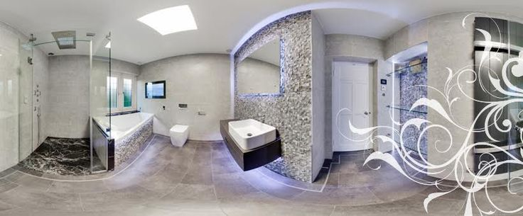 Everything in this latest BBRW bathroom is to the highest spec - it even features an 'Aquavision' television over the bath.
