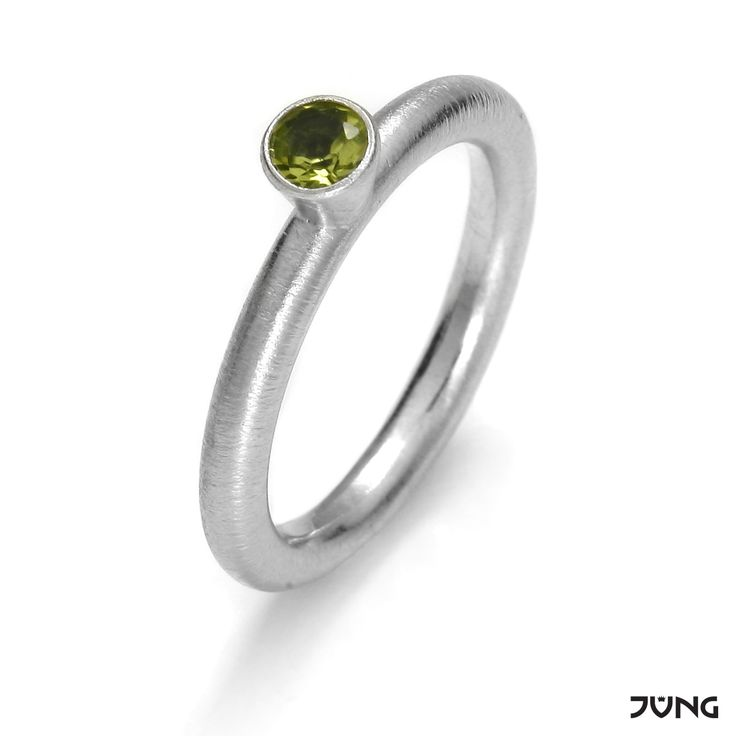 silver ring with peridot  http://en.dawanda.com/product/95077999-silver-ring-with-peridot