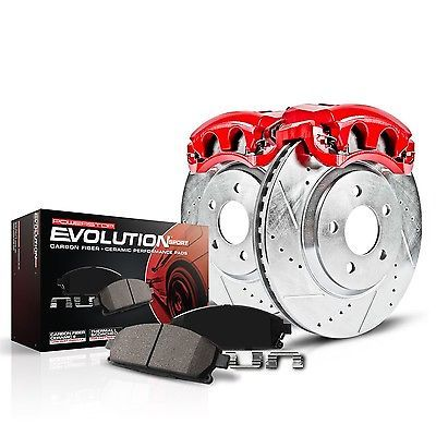 Disc Brake Pad, Caliper and Rotor Kit Front POWER STOP KC2292