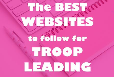 Welcome Troop Leader Mamas!!  Because sharing is caring, today I wanted to share with you my favorite  websites for my meeting planning inspiration that I think will be of great  help to you! When I first started out planning the meetings I was  overwhelmed with all the different resources and felt lost. I followed the  Girls Guide to Girl Scouting and the Journey Leadership books, but I felt  there was more needed. Some of the activities didn't fit our troop dynamic  and I needed to make…