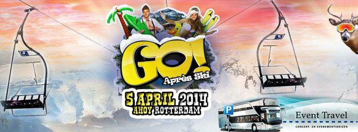 YES! De kaartverkoop van Go Après Ski is begonnen! Bestel nu snel je kaarten op de site van Go Apres Ski!   http://www.goapresski.nl/