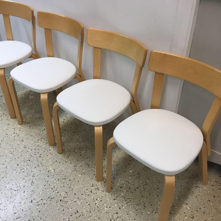Artek 69 tuolit #artek #alvaraalto #finnishdesign
