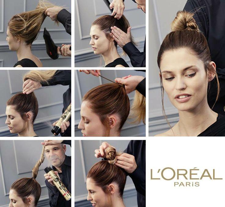Best Tuto Coiffure Images On Pinterest Tuto Coiffure Hair - Diy chignon boheme