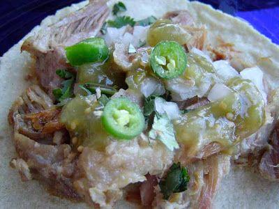 Tacos de carnitas caseras #ricettedicucinamessicana