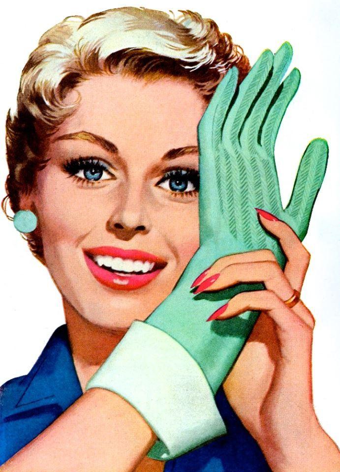 Mother's Hand-y Helpers! ~ ca. 1950s