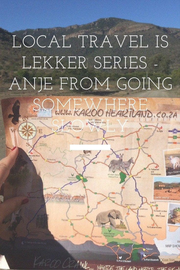 The Local Travel is Lekker blog series aims to awaken wanderlust for South African travel. Click to read more about my second featured South African travel blogger - Anje from Going Somewhere Slowly!