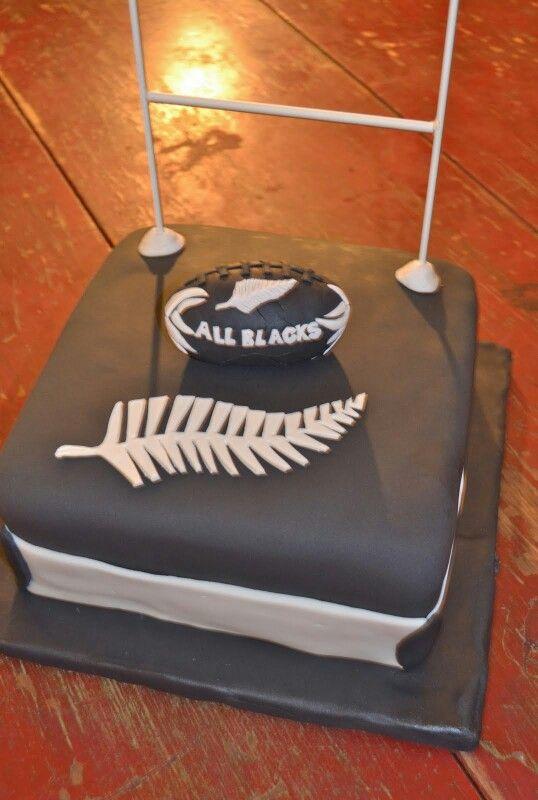 Treat the other half groomsmen cake... All blacks fans