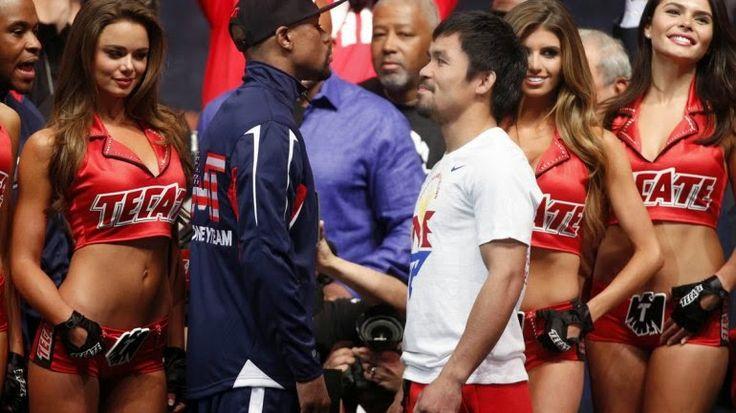 Floyd Mayweather y Manny Pacquiao van por la gloria en la pelea del siglo | Laser fm 94.7 necochea
