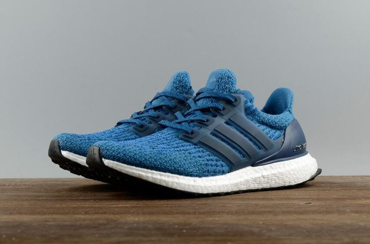 Free DHL Shipping Authentic Adidas Ultra Boost 3.0 Real Boost Blue BA8844 for Online Sale_08