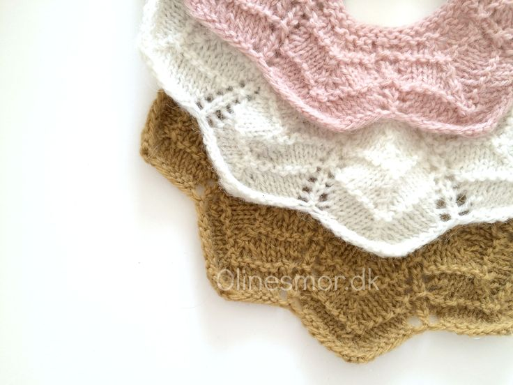 Knitted collar