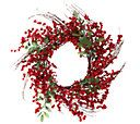 E.D. On Air 24 Berry & Sprig Wreath by Ellen DeGeneres — QVC.com