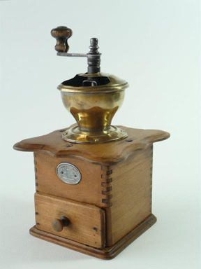 Antique French Peugeot Freres Coffee Grinder