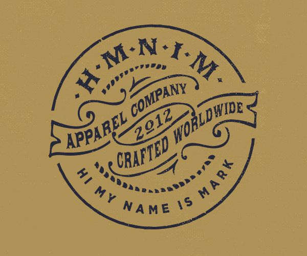Hi My Name Is Mark by Forefathers Group , via Behance