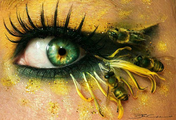 Beauty and the Mist - everything about beauty: Stunning Eye Make-Up Art by Svenja Schmitt