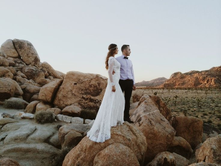 Joshua Tree wedding | VSCO