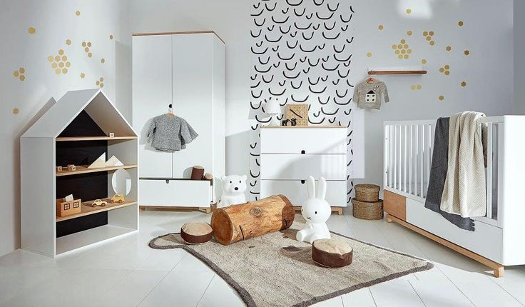 #Scandinavian #Nursery #Furniture #Set available online exlusive at http://funique.co.uk