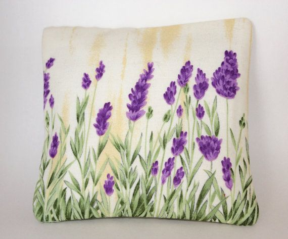Lavender Mini Pillow by AnnaLavenderDream on Etsy