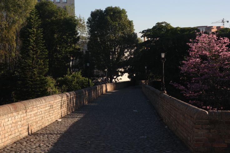 Puente del Humilladero: the stone bidge in Popayan. 2 blocks away from ParkLife Hostel Popayan.