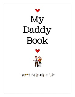 Mrs. Bremer's Kindergarten: Father's Day Freebie!...download the book and have the kids fill it all in.