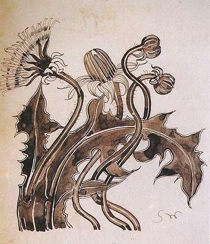 Znalezione obrazy dla zapytania wyspiański kwiaty