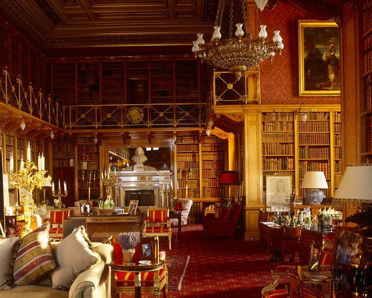 Alnwick-Castle-The-Library