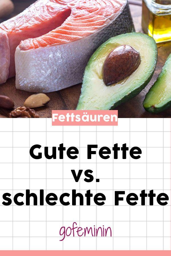 Gute Fette? Der Unterschied zwischen gesättigten und ungesättigten Fettsäuren