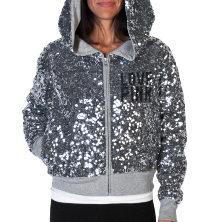 competitive price 3305e 5bb93 Vs pink sequin hoodie » Cheap online clothing stores