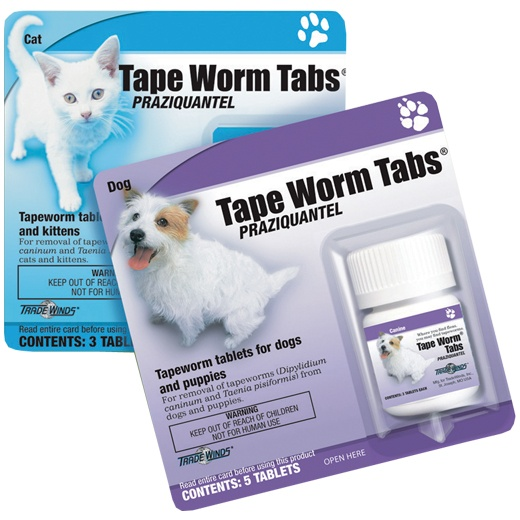 Trade Winds® Tape Worm Tabs® from Revival Animal Health