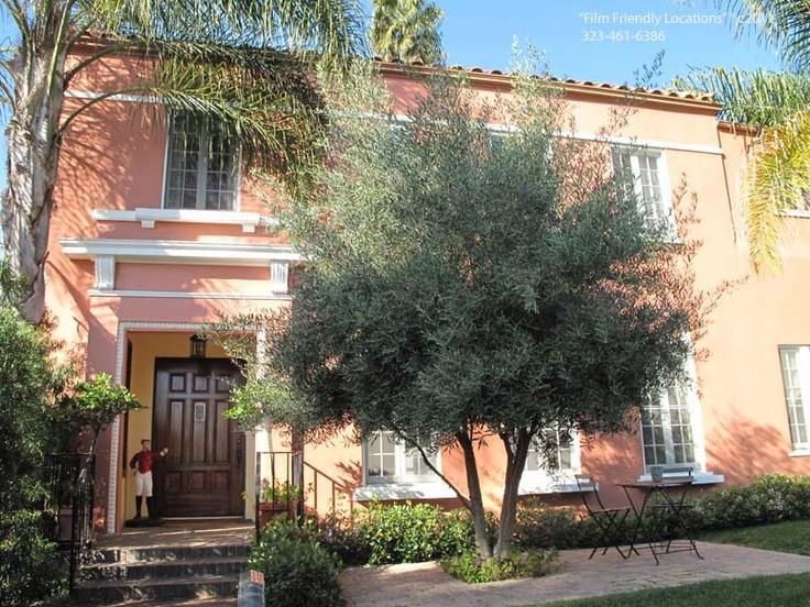 Spanish Colonial In LA, Pretty Olive Tree