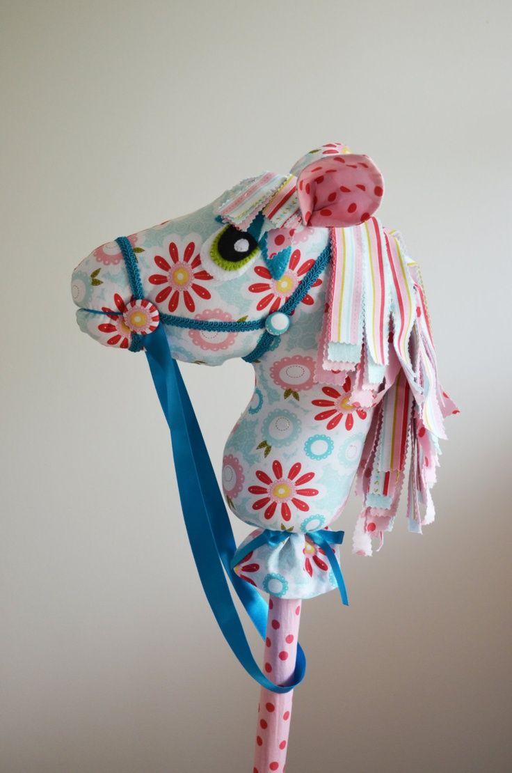 Handmade Hobby Horse. $90.00, via Etsy.: