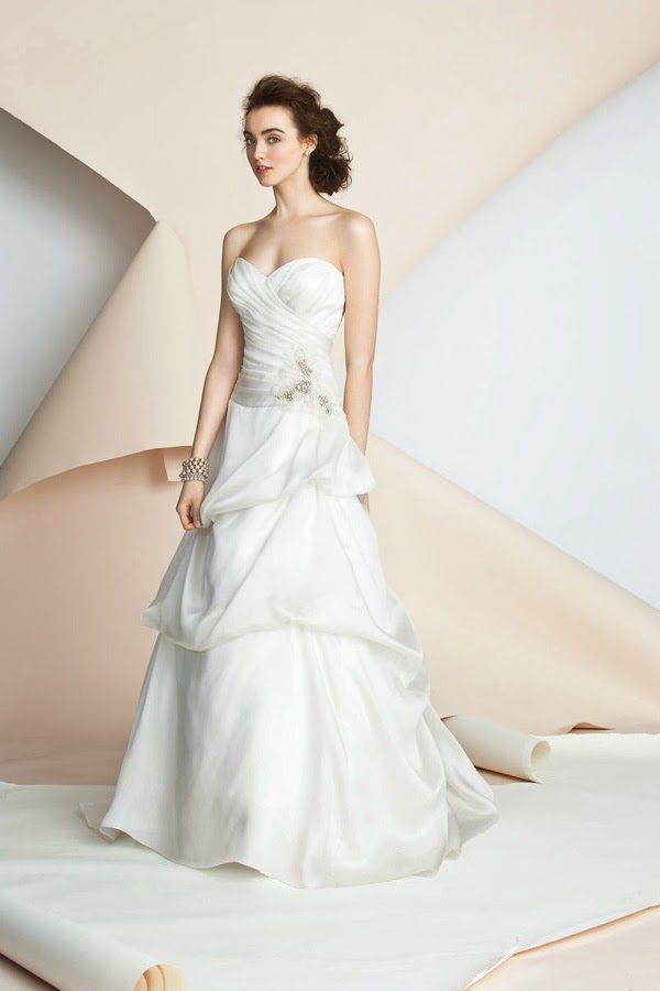 7 best Alyne Wedding Dresses images on Pinterest | Wedding frocks ...