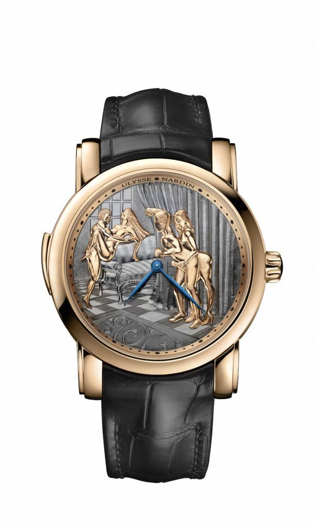 Ulysse Nardin Classic Voyeur erotic watch was unveiled at SIHH 2018.