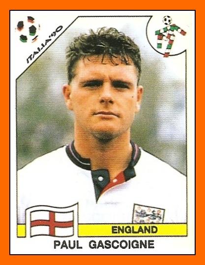 Paul Gascoigne - England