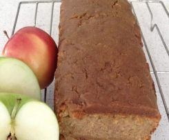 Apple Bread with Cinnamon Topping