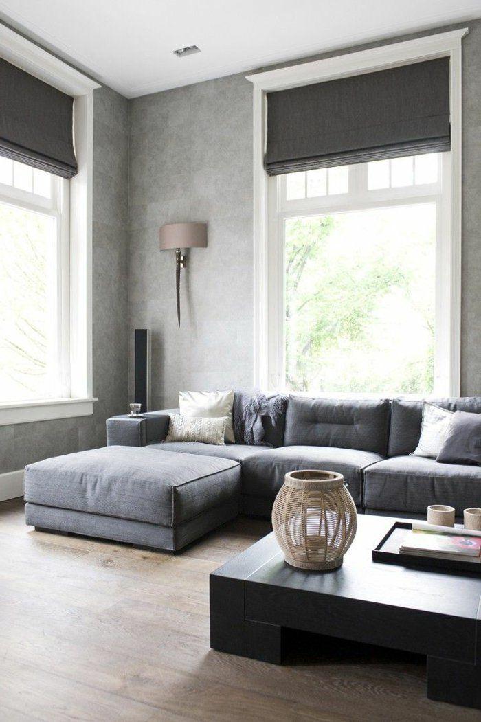 18 besten Vorhang Bilder auf Pinterest Vorhänge, Accessoirs und - moderne raffrollos wohnzimmer