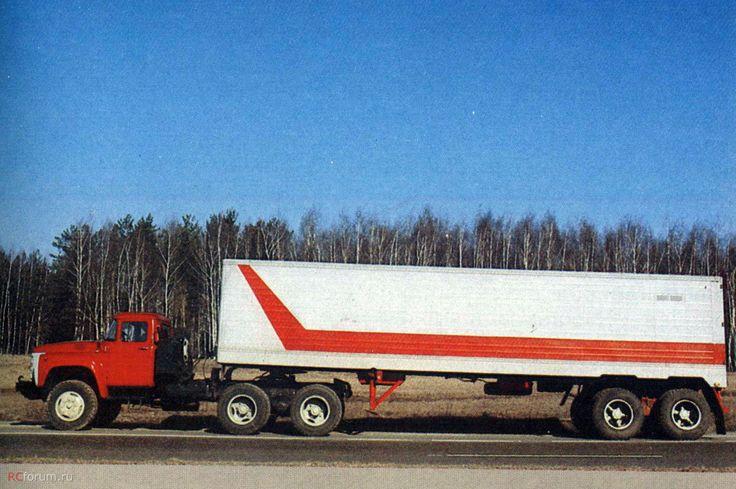 08 ЗИЛ-133ВЯ дизельная модификация ЗИЛ-133В с двигателем КамАЗ-740 (1979-1992)