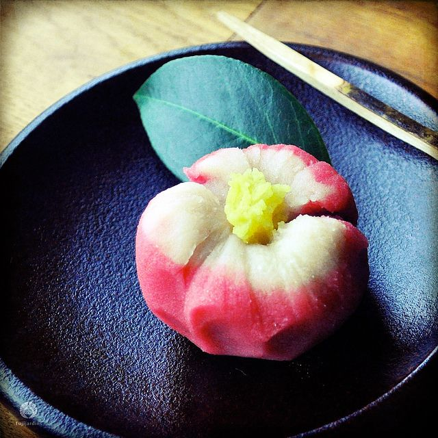 Japan | Wagashi | Camelia | Tea Ceremony