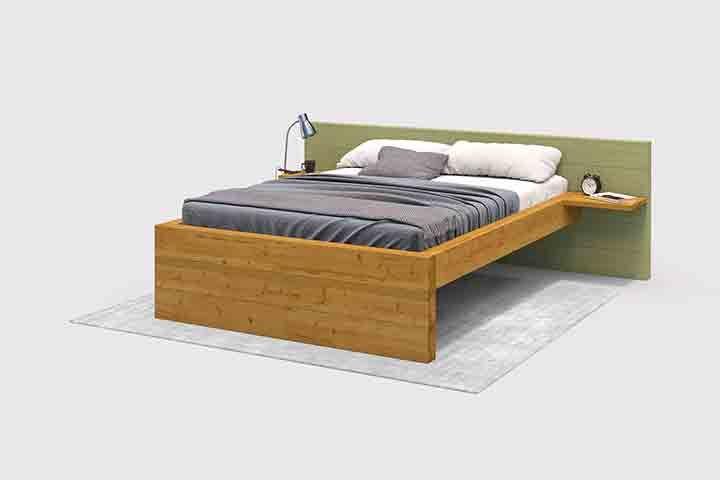 Bett Franz Create By Obi Massiv Bett Wohnung Mobel Diy Plattform Bett