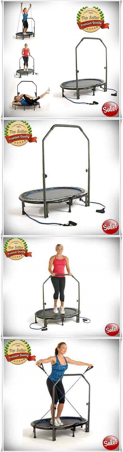 Trampolines 57275: Fitness Sport Trampoline Exercise Workout Jogger Rebounder Handlebar Steel Dvd -> BUY IT NOW ONLY: $67.01 on eBay!