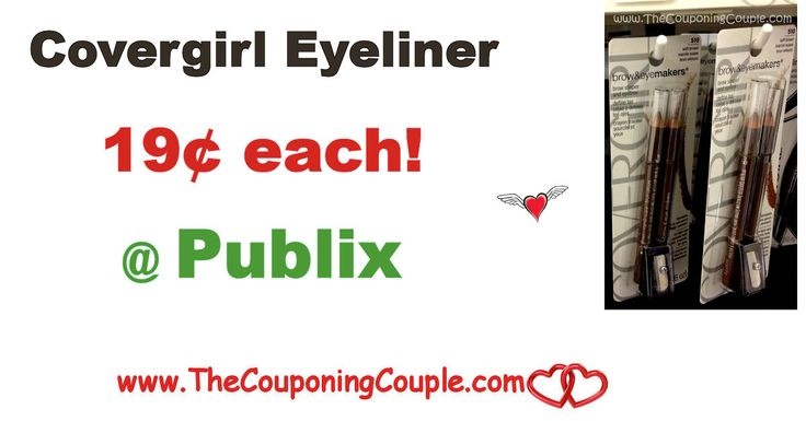 New HIgh Value Printable Plus Covergirl Eyeliner Twin Pack $0.19 @ Publix. Print this Coupon Now before it is gone folks to score great deals  Click the link below to get all of the details ► http://www.thecouponingcouple.com/new-printable-plus-covergirl-eyeliner-twin-pack-0-19-publix/ #Coupons #Couponing #CouponCommunity  Visit us at http://www.thecouponingcouple.com for more great posts!