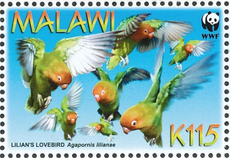 Lilian's Lovebird stamps - mainly images - gallery format