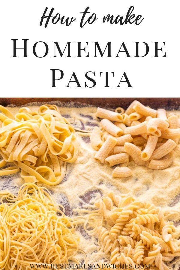 Homemade Semolina Pasta Recipe Homemade Pasta Dough Homemade