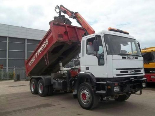 #UsedIvecoTrucks  Iveco trucks are the part of Ford Company's heavy-duty line of production. We have a large gamut of Used Iveco Trucks - the well-known work horses. We provide Iveco Trucks in different models to meet the specific requirements of the buyers.  Buy #IvecoEurotrakker 6x4 26 Tons Tipper at £9,995, Order now http://www.euroasiatrucks.com/productdetail-iveco_eurotrakker_6x4_26_tons_tipper-1244.htm
