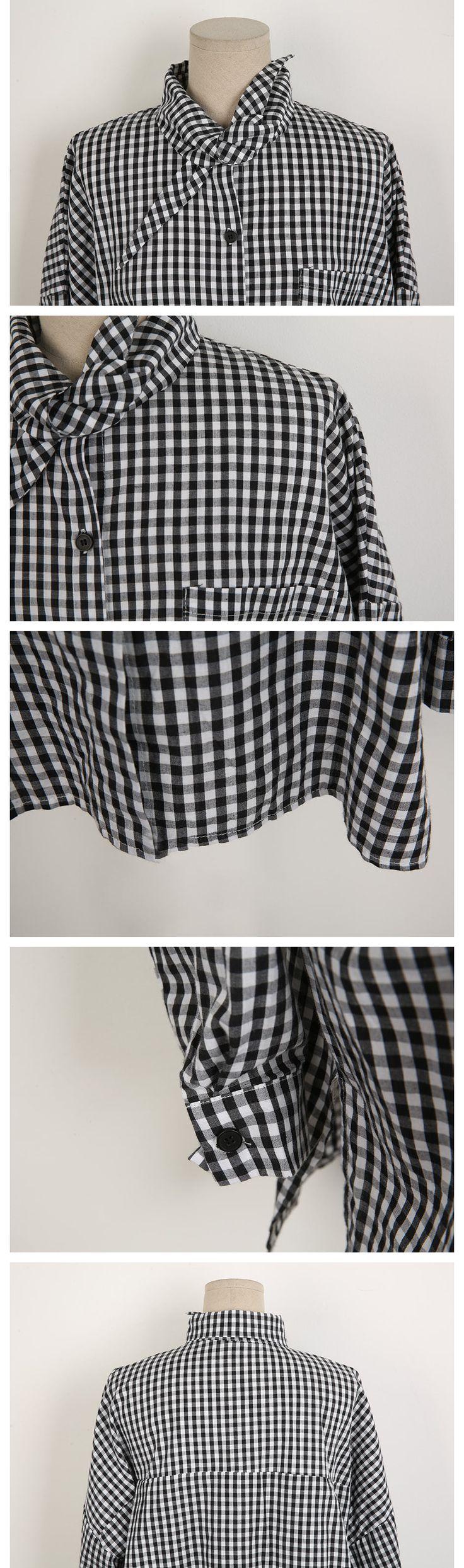 スカーフポイントネックシャツ | レディース・ガールズフ…