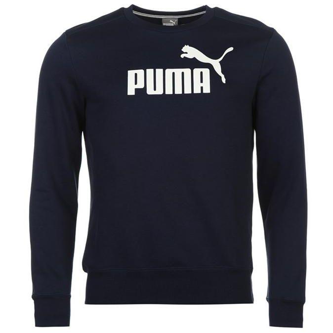 Puma   Puma No1 Crew Sweater Mens   Men's Crew Sweaters